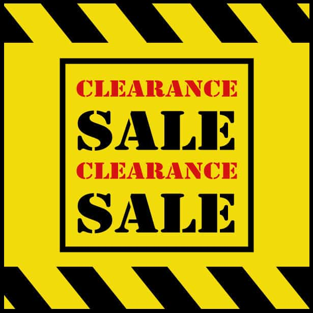 Lamp Clearance Sale