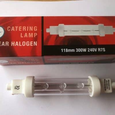 300w 240v Catering Lamp 118mm R7S