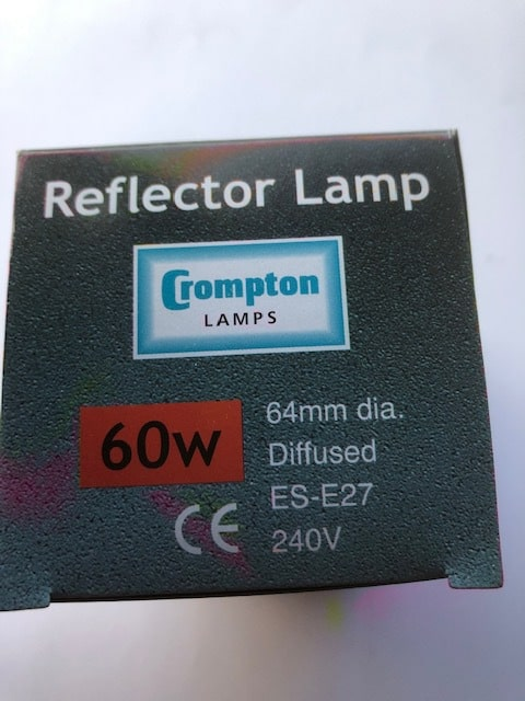 R63 Reflector 60w ES Diffused