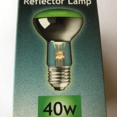R63 Reflector 40w ES Green